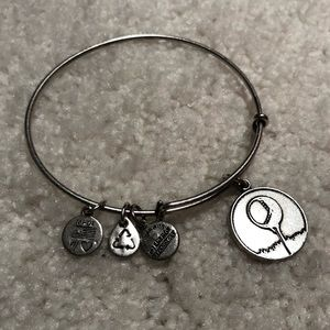 Alex and Ani Ball and Tee Expandable Bracelet